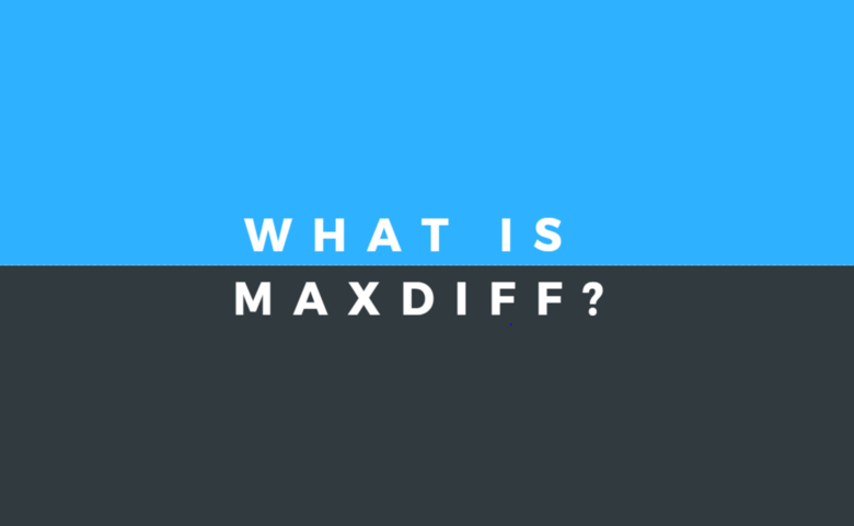 What is MaxDiff?